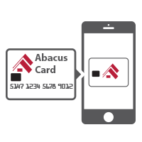 iPhone Abacus Credit Card on Apple Pay