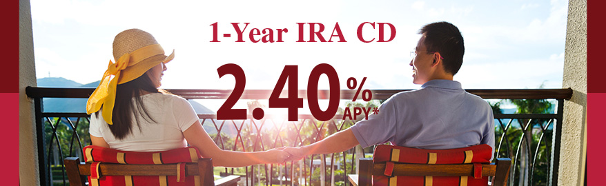 Abacus Personal IRA CD: 2.40% APY