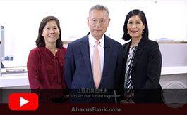 Abacus 35 Year Anniversary Message