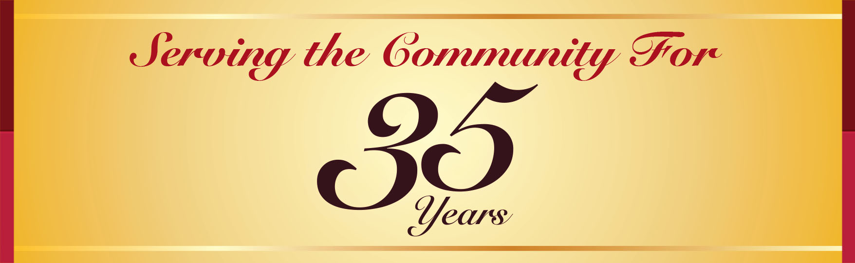 Serving the community for 35 years